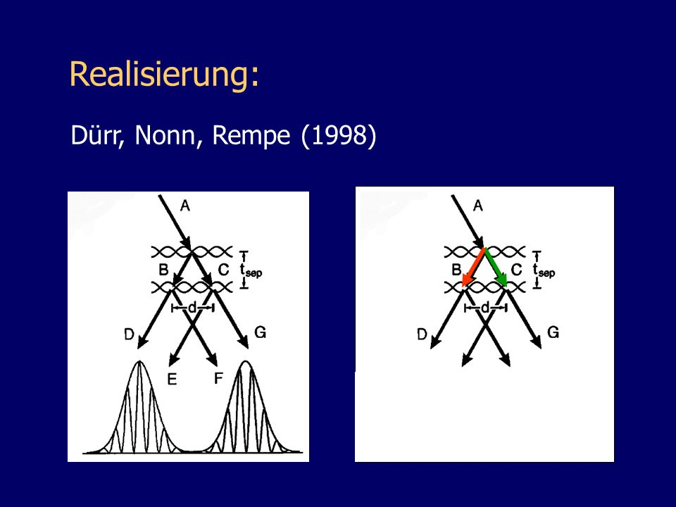 Realisierung: Dürr, Nonn, Rempe (1998)