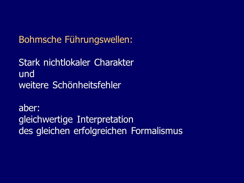 Bohmsche Führungswellen: