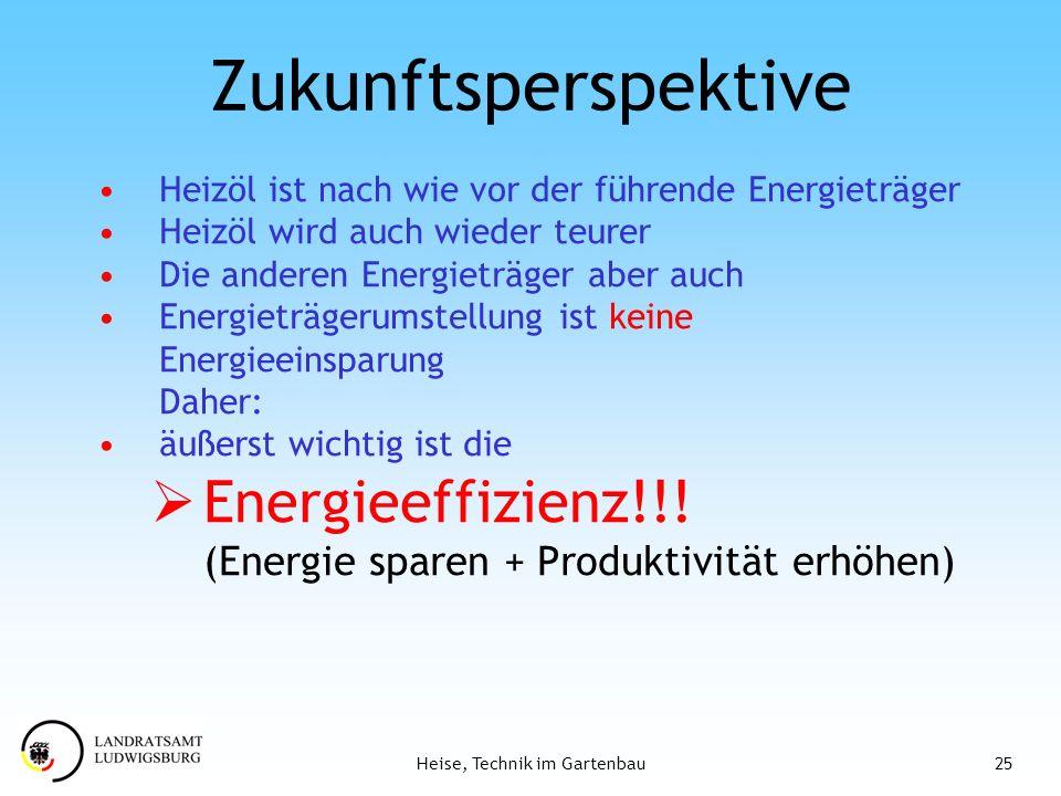 Zukunftsperspektive Energieeffizienz!!!