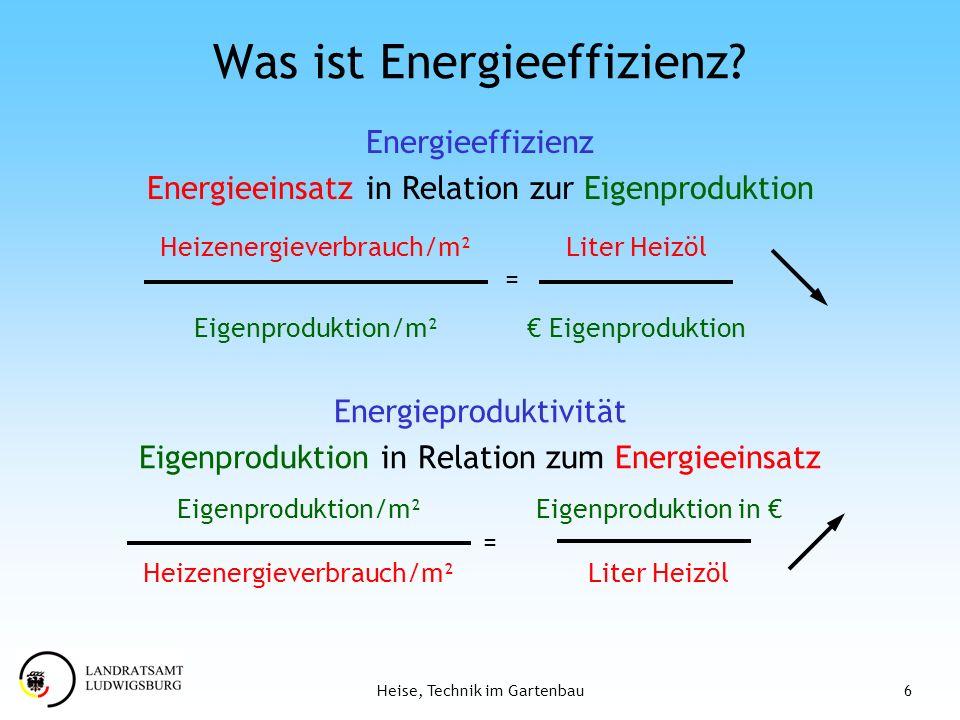 Was ist Energieeffizienz