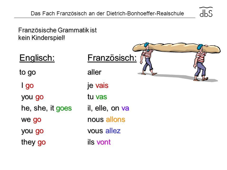 Französische Grammatik ist kein Kinderspiel!