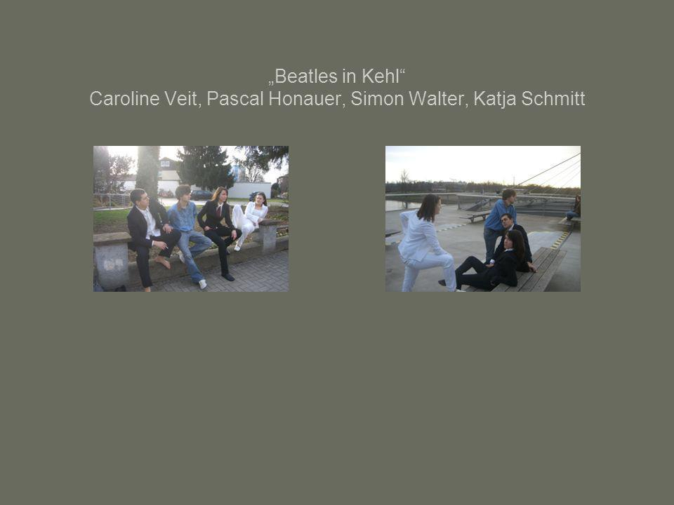 """Beatles in Kehl Caroline Veit, Pascal Honauer, Simon Walter, Katja Schmitt"