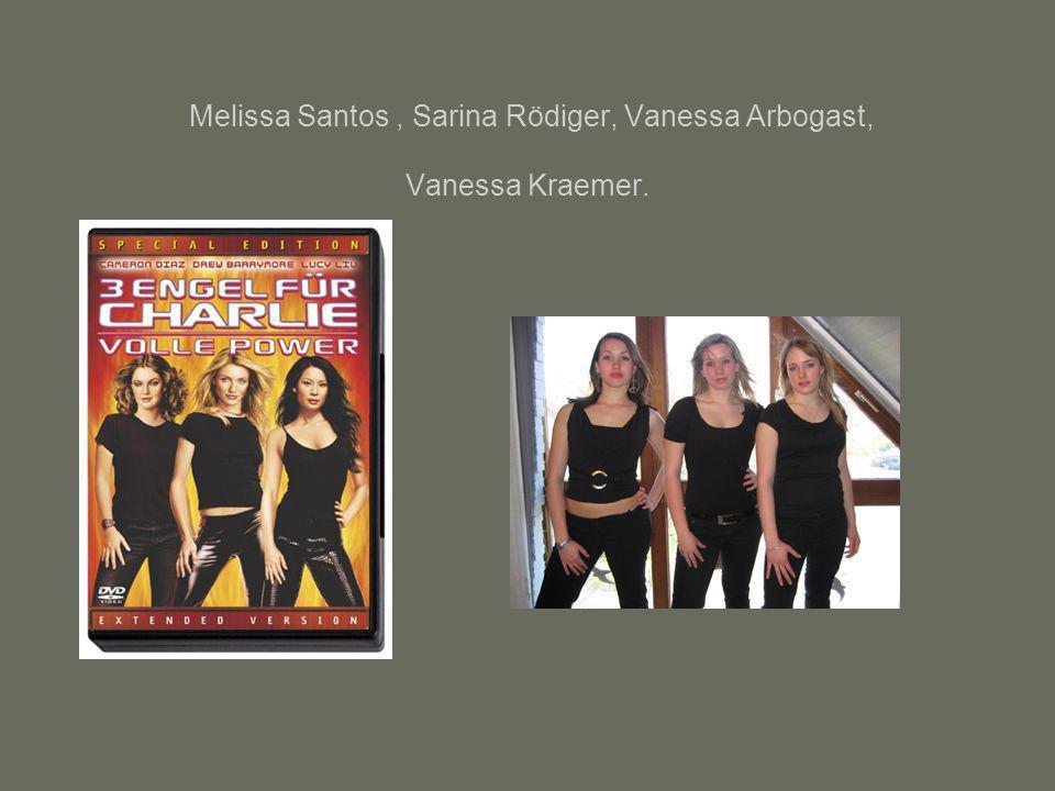 Melissa Santos , Sarina Rödiger, Vanessa Arbogast, Vanessa Kraemer.