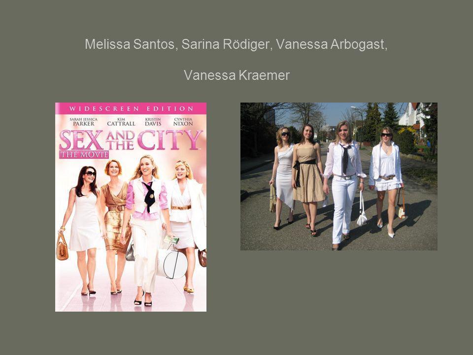 Melissa Santos, Sarina Rödiger, Vanessa Arbogast, Vanessa Kraemer