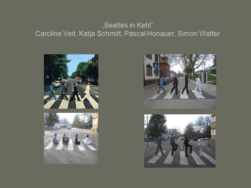 """Beatles in Kehl Caroline Veit, Katja Schmitt, Pascal Honauer, Simon Walter"