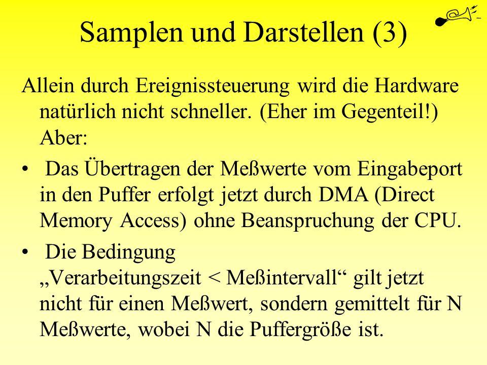 Samplen und Darstellen (3)