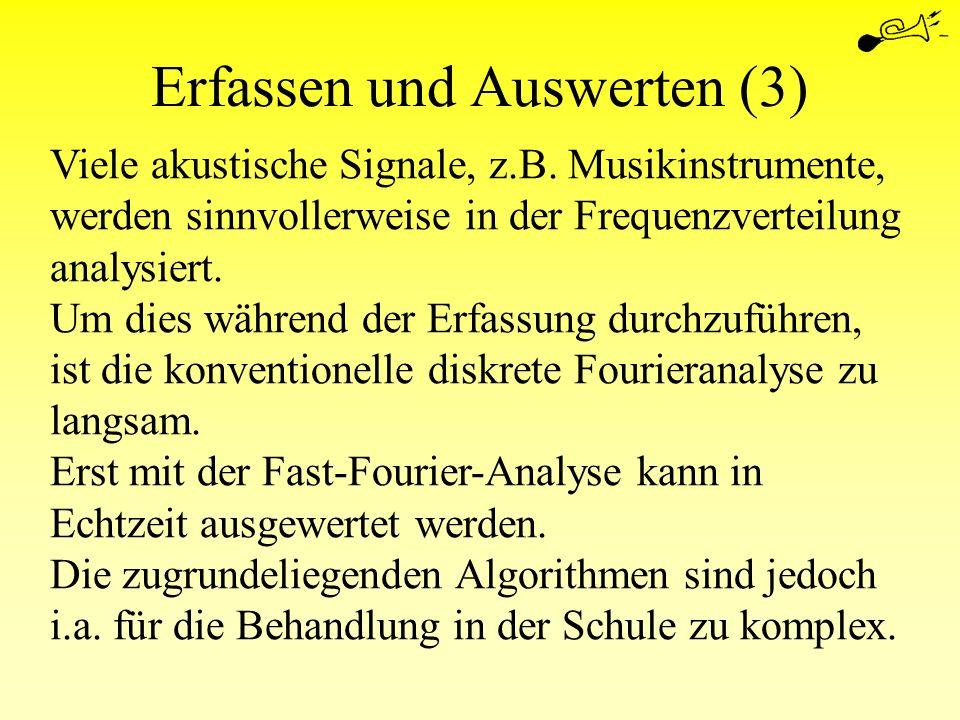 Erfassen und Auswerten (3)