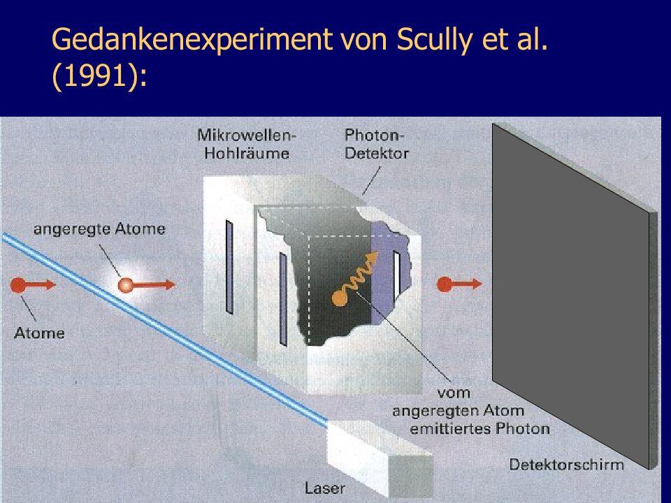 Gedankenexperiment von Scully et al. (1991):