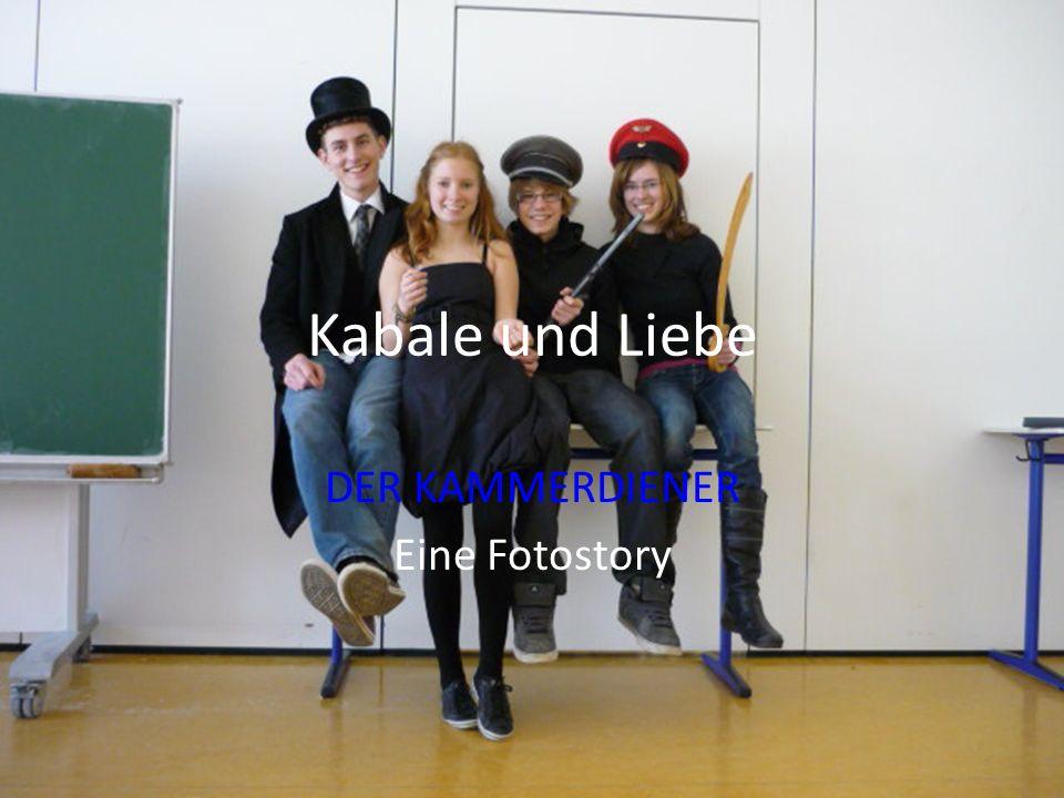 DER KAMMERDIENER Eine Fotostory