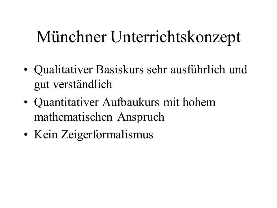 Münchner Unterrichtskonzept