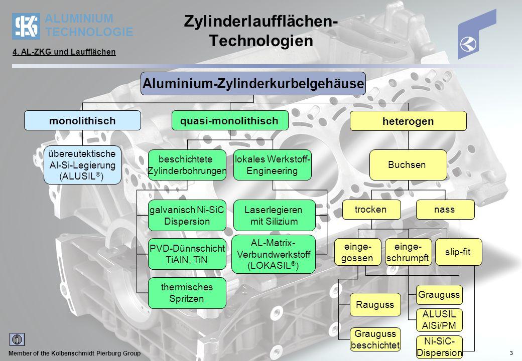 Zylinderlaufflächen-Technologien