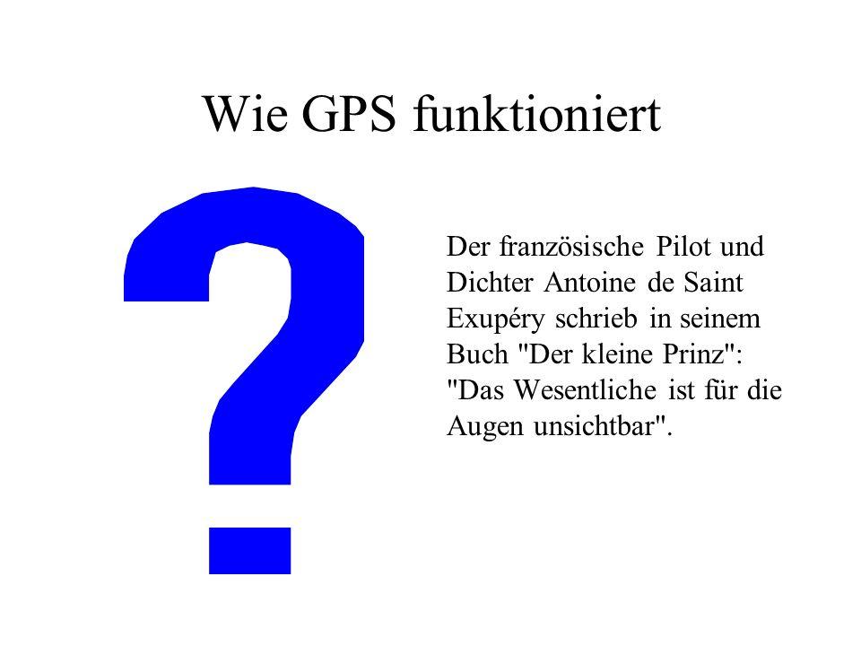 Wie GPS funktioniert