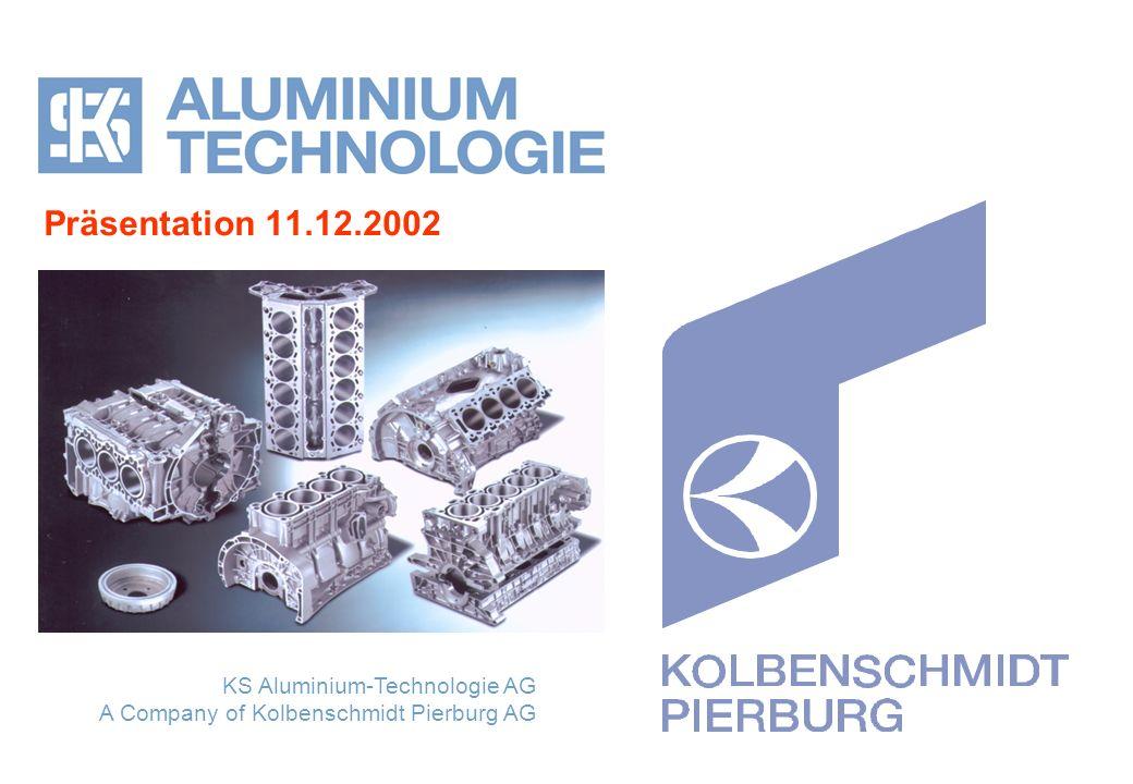 Präsentation 11.12.2002 KS Aluminium-Technologie AG