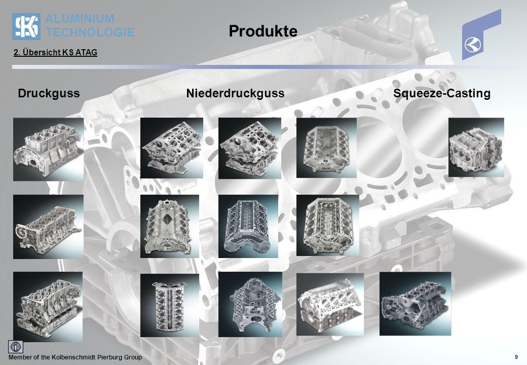 Produkte Druckguss Niederdruckguss Squeeze-Casting
