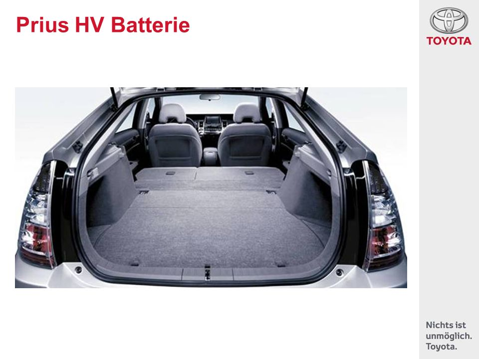 Prius HV Batterie