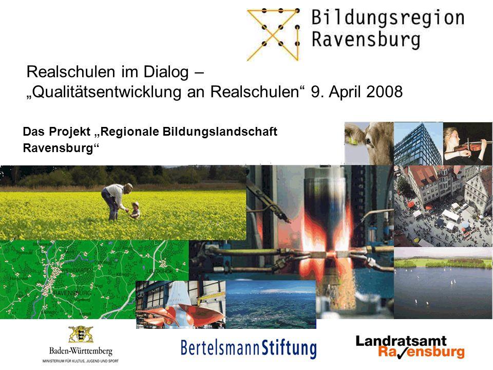 """Das Projekt """"Regionale Bildungslandschaft Ravensburg"""