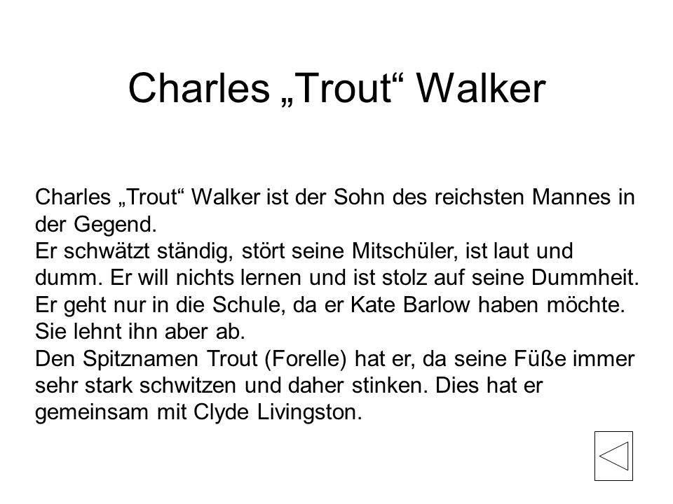 "Charles ""Trout Walker"