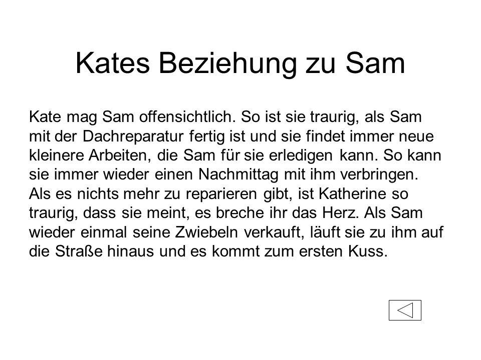 Kates Beziehung zu Sam