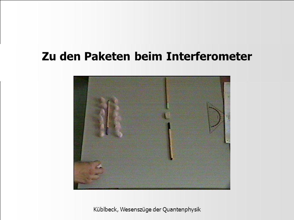 Zu den Paketen beim Interferometer