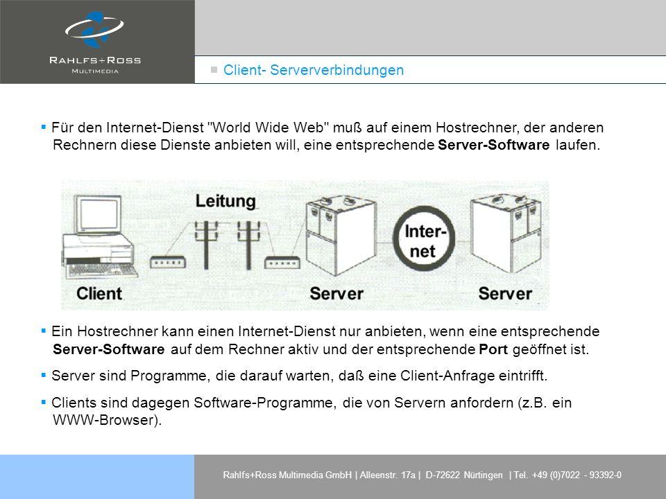 Client- Serververbindungen