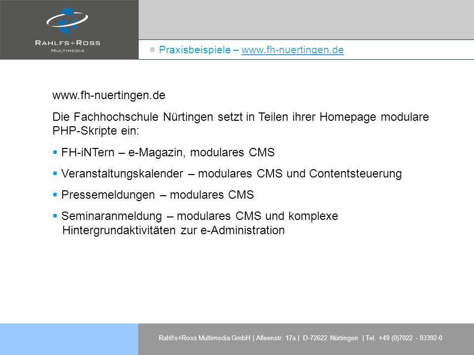 Praxisbeispiele – www.fh-nuertingen.de