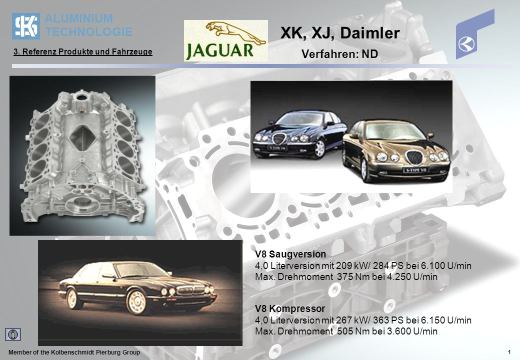 XK, XJ, Daimler Verfahren: ND