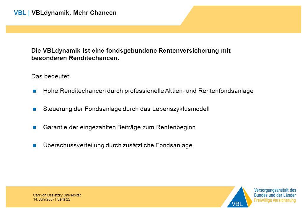 VBL | VBLdynamik. Mehr Chancen