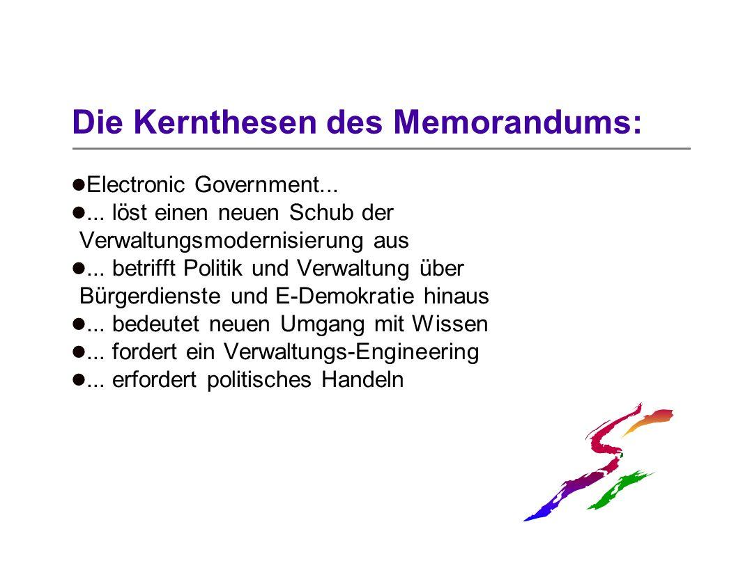 Die Kernthesen des Memorandums: