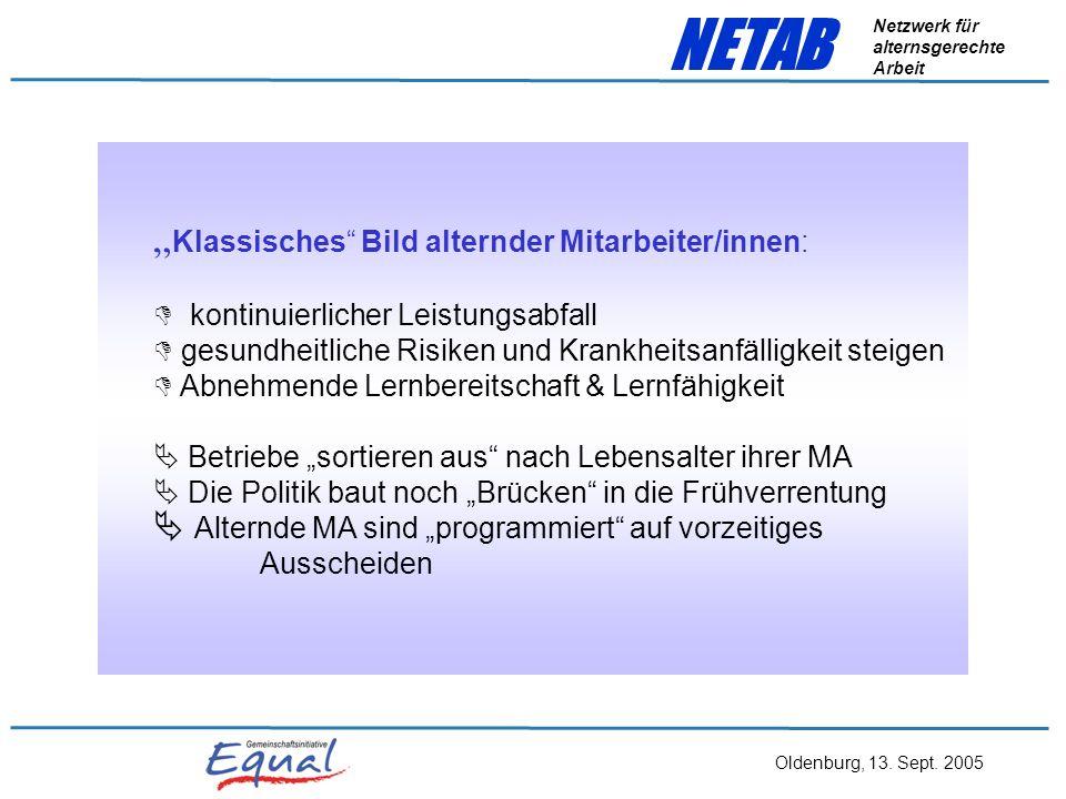 """""""Klassisches Bild alternder Mitarbeiter/innen:"""