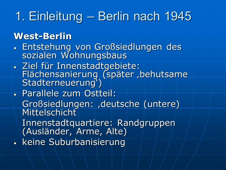 1. Einleitung – Berlin nach 1945