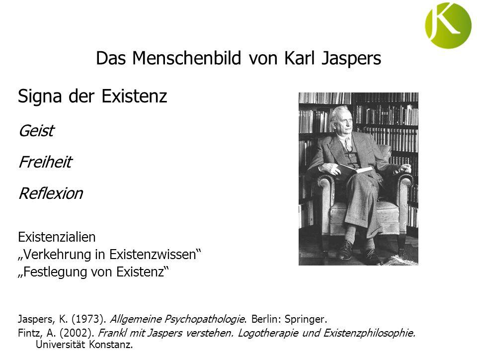 Das Menschenbild von Karl Jaspers