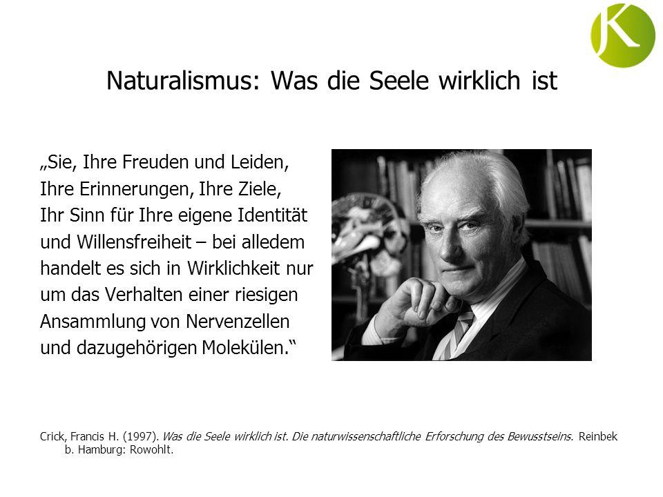 Naturalismus: Was die Seele wirklich ist