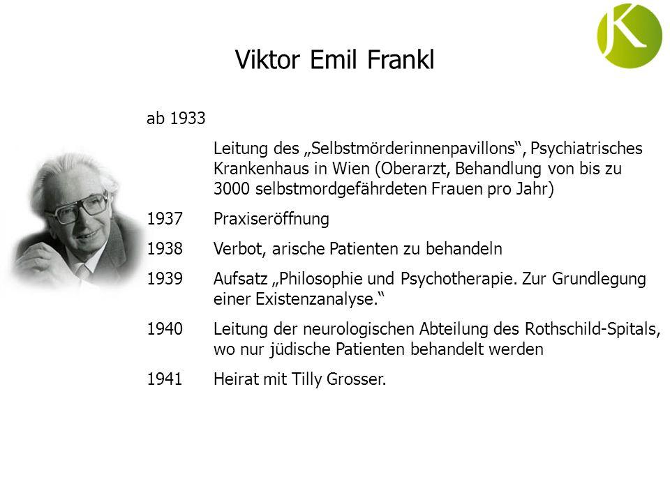 Viktor Emil Frankl ab 1933.