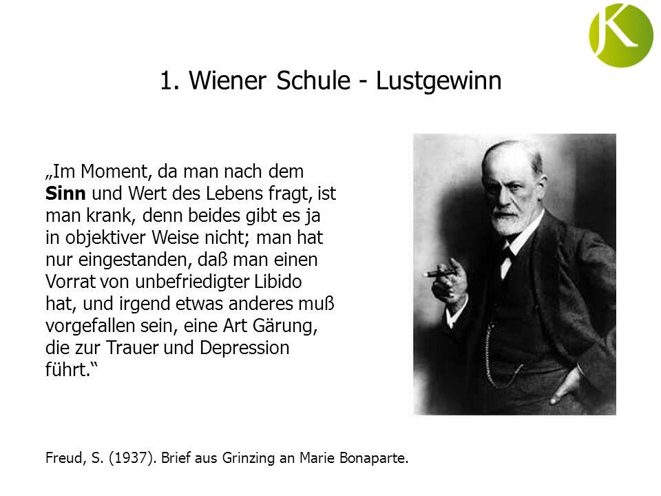 1. Wiener Schule - Lustgewinn