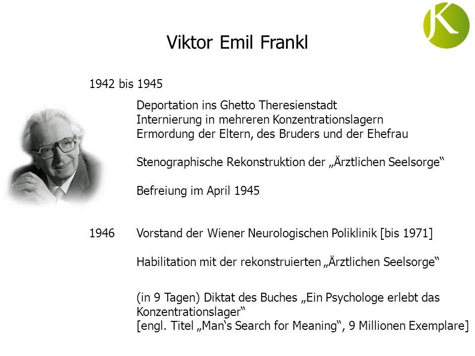 Viktor Emil Frankl 1942 bis 1945.