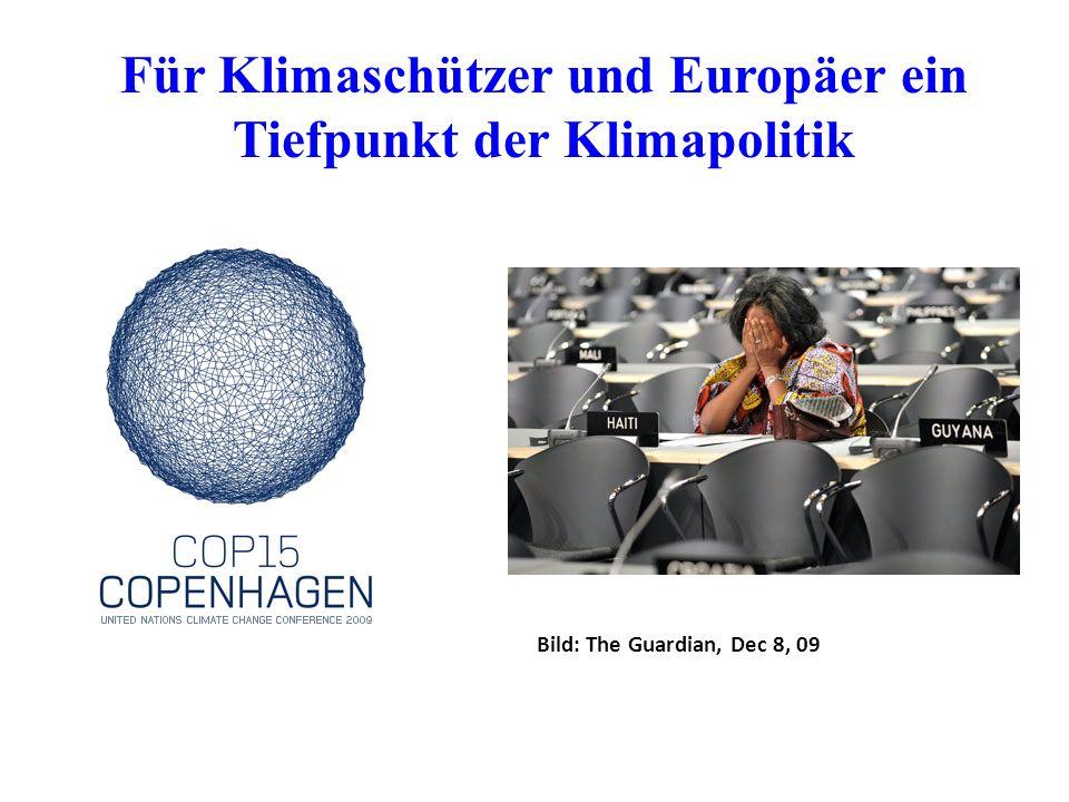 Für Klimaschützer und Europäer ein Tiefpunkt der Klimapolitik