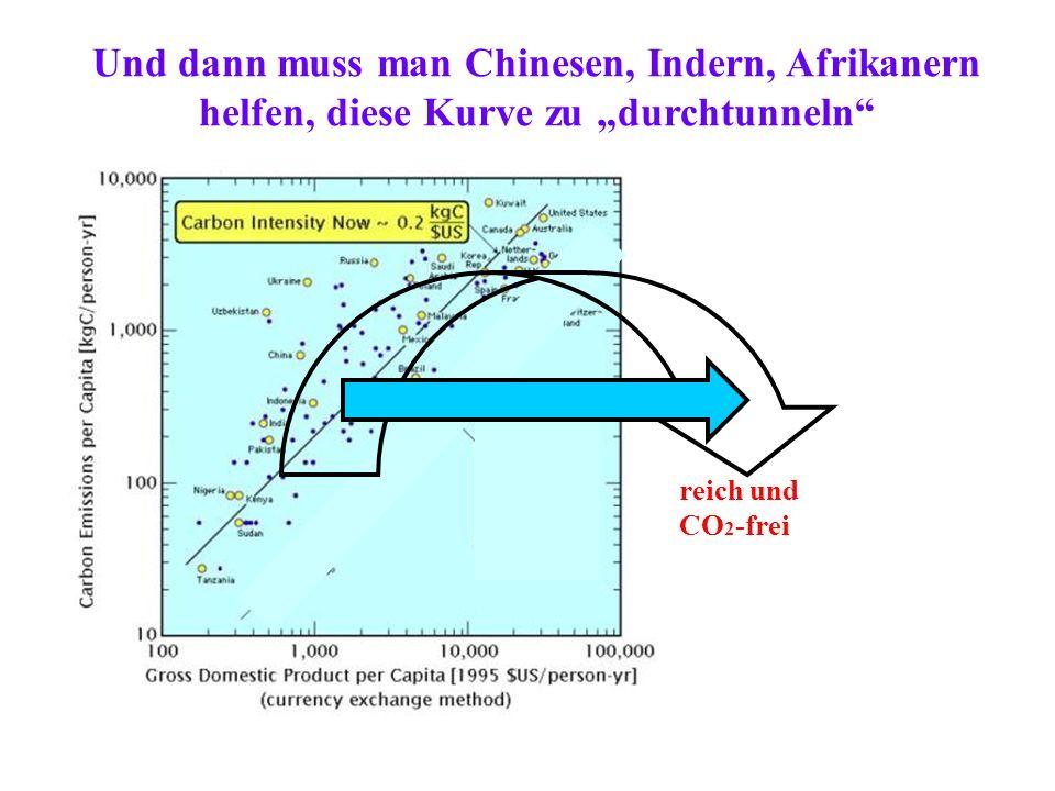 """Und dann muss man Chinesen, Indern, Afrikanern helfen, diese Kurve zu """"durchtunneln"""