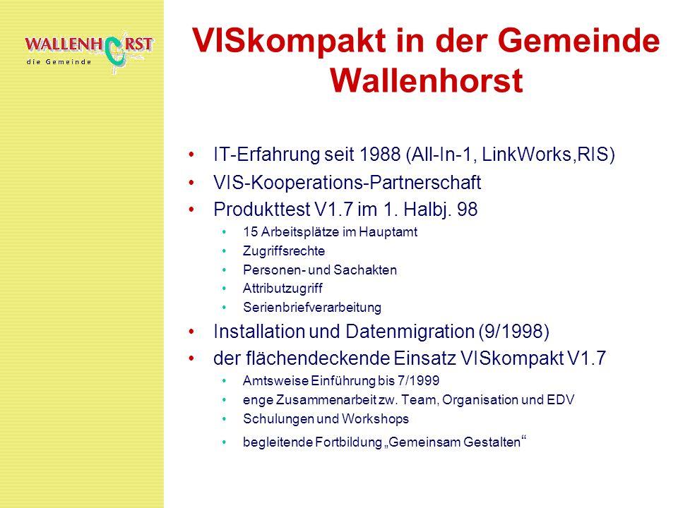 VISkompakt in der Gemeinde Wallenhorst