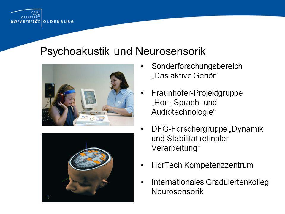 Psychoakustik und Neurosensorik