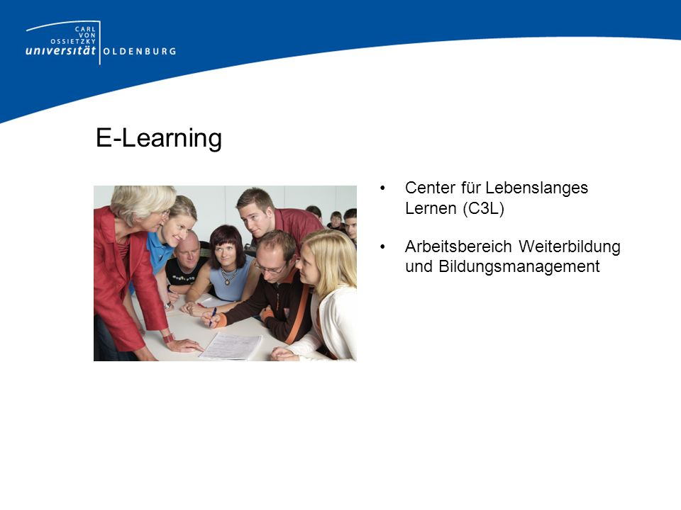 E-Learning Center für Lebenslanges Lernen (C3L)