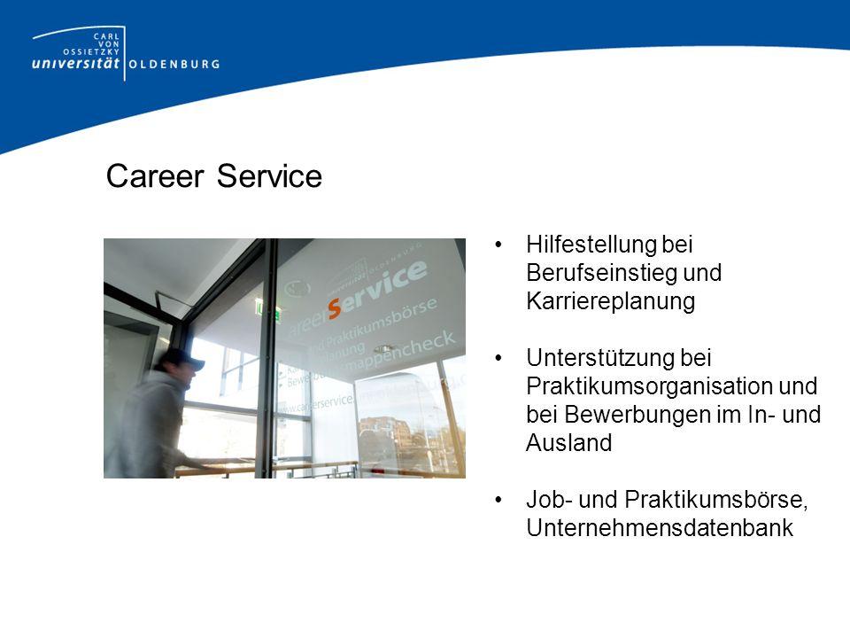 Career Service Hilfestellung bei Berufseinstieg und Karriereplanung