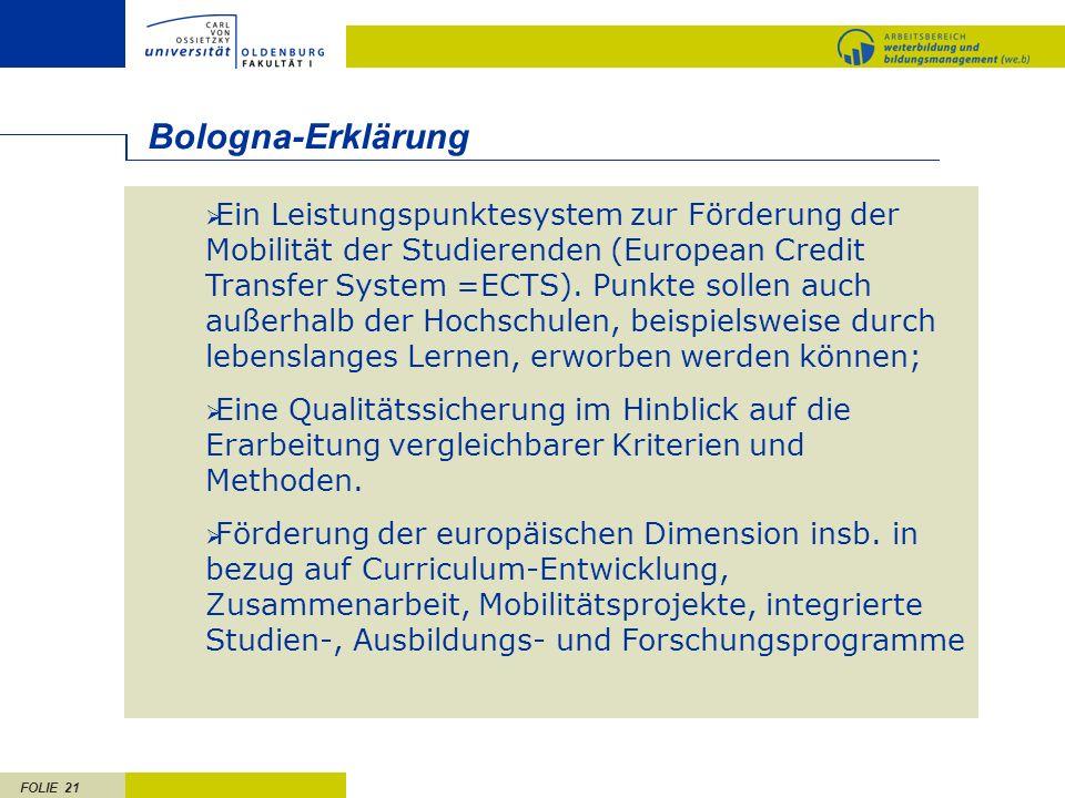 Bologna-Erklärung.