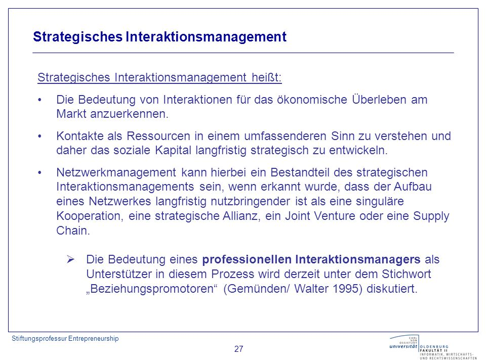 Strategisches Interaktionsmanagement