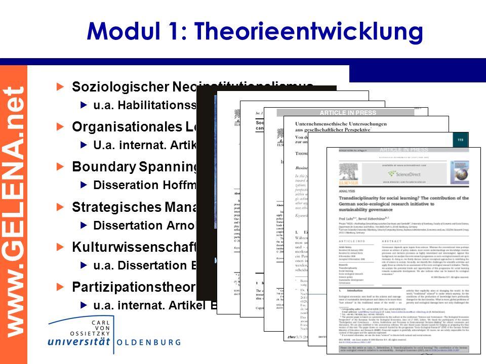 Modul 1: Theorieentwicklung