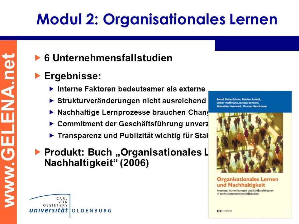 Modul 2: Organisationales Lernen