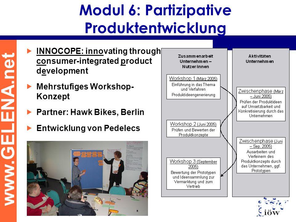 Modul 6: Partizipative Produktentwicklung