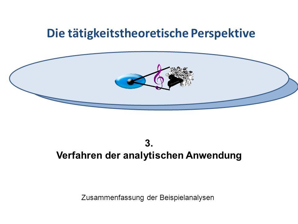 Verfahren der analytischen Anwendung