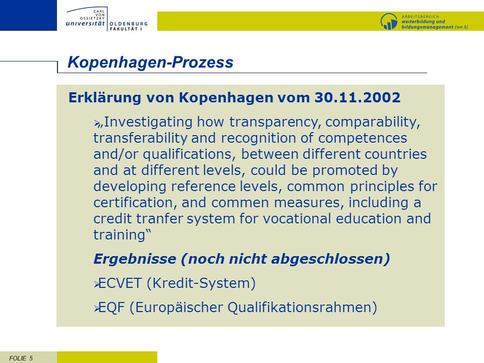 Kopenhagen-Prozess Erklärung von Kopenhagen vom 30.11.2002