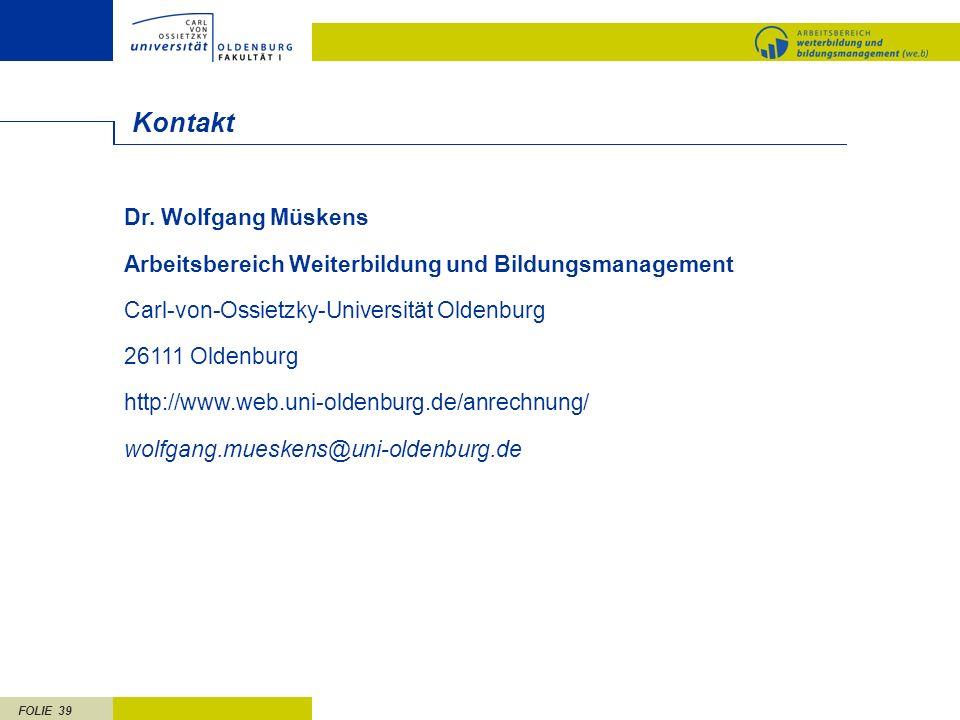 Kontakt Dr. Wolfgang Müskens