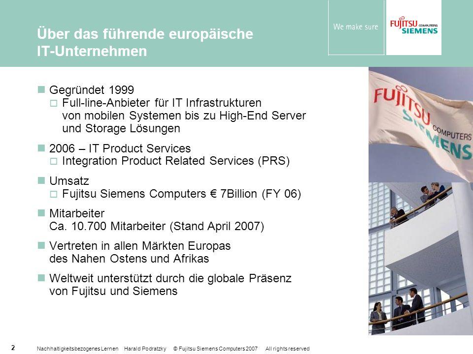 Über das führende europäische IT-Unternehmen